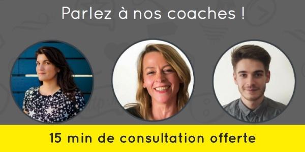Lancez votre stratégie digitale avec nos coachs