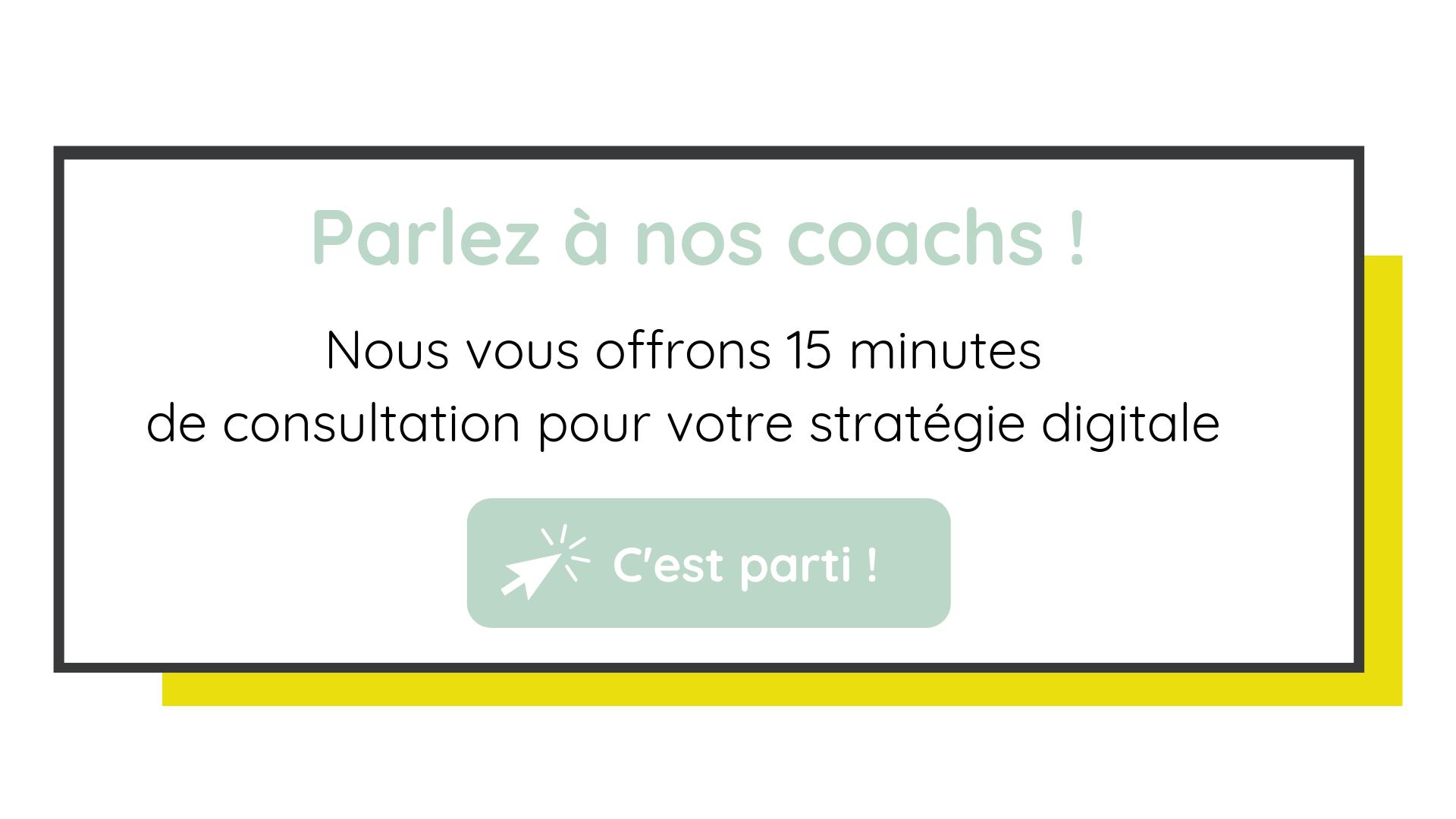 15 minutes de consultation gratuites