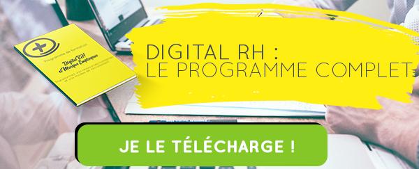 Telecharger le programme de formation digital RH