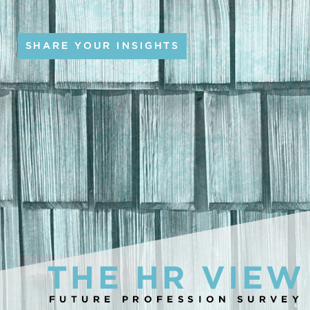 Share your insights in the HR View future profession survey
