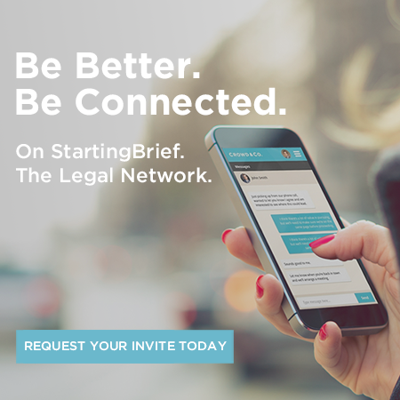 The Legal Network. Request your invite today.