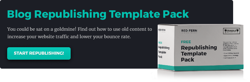 Blog Republishing Template Pack