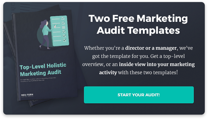 marketing audit template