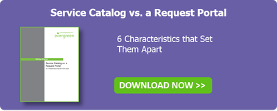 Service Catalog vs. Request Portal White Paper