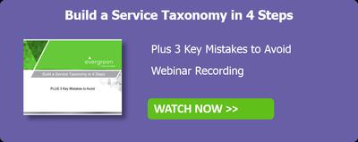 Service Taxonomy Webinar