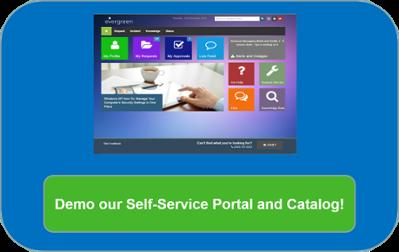 Self-Service Portal Demo
