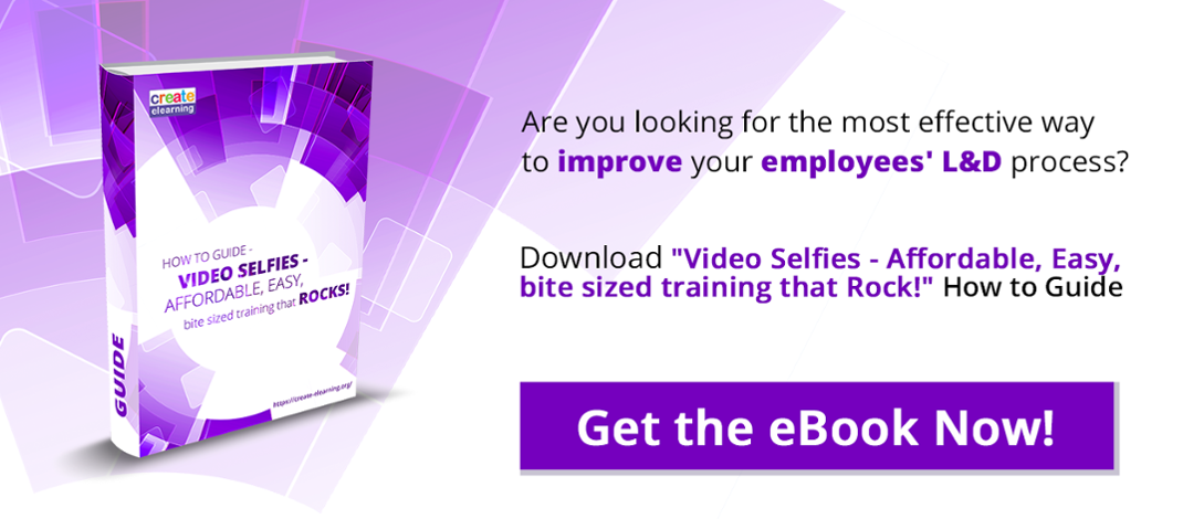 Video Selfies LMS Training elearning platform