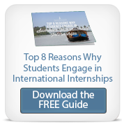 top 8 reasons why students engage in international internships