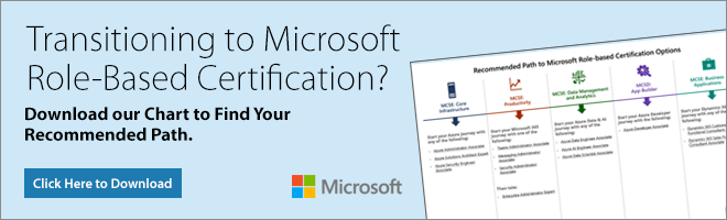 Transitioning to MS Role Based Certs?