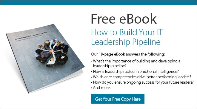 "Download our free eBook ""How to Build Your IT Leadership Pipeline"""