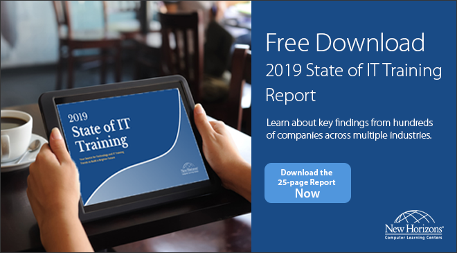 Free Download - 2019 State of IT Training Report
