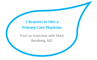 Importance of hiring primary care physicians