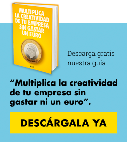 """Descarga Gratis la guía """"Multiplica la creatividad de tu empresa sin gastar un euro"""""""