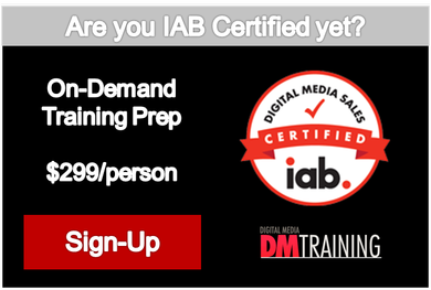 IAB Digital Media Sales Certification Prep