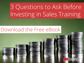 3 Questions to Ask Before Investing in Sales Training eBook