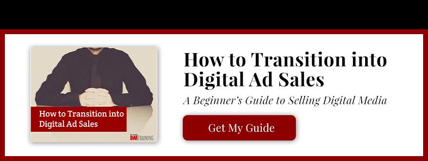 Transitioning into digital ad sales