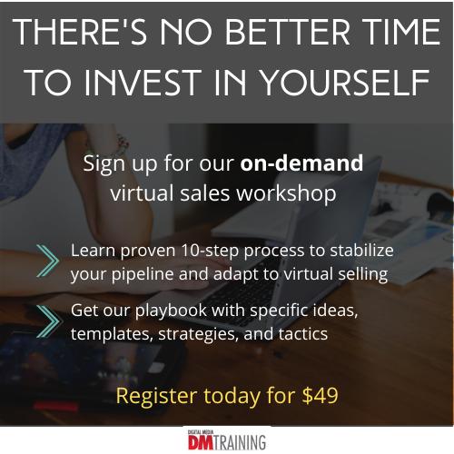 DMTraining On-Demand Virtual Sales Workshop