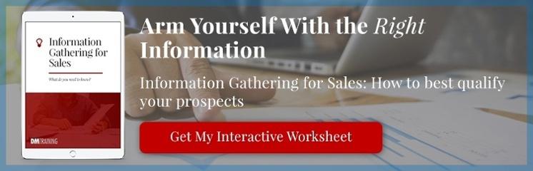 Information Gathering for Sales