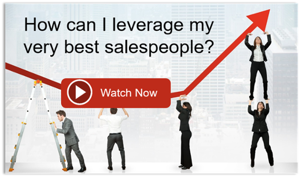 How can I leverage my very best salespeople?