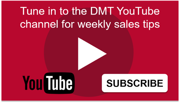 Tune in to the DMT YouTube channel for weekly tips.