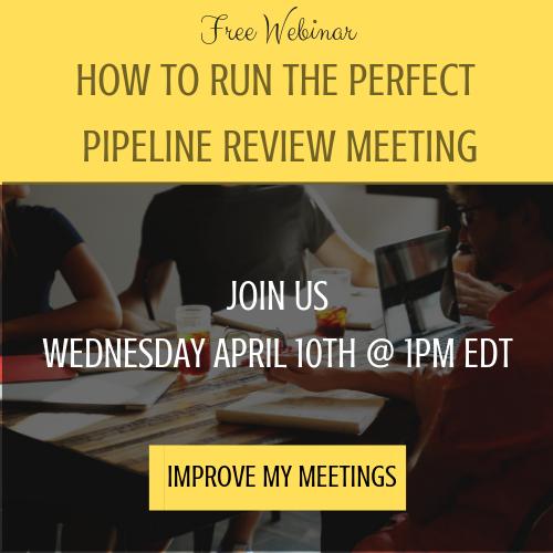 Sales Pipeline Review Meeting