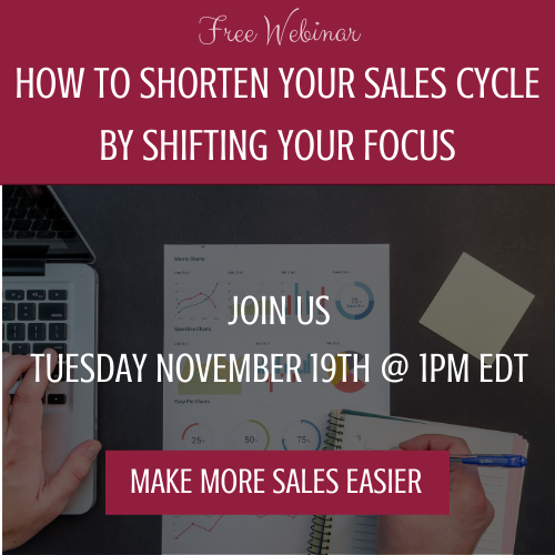 How to shorten your sales cycle by shifting your focus