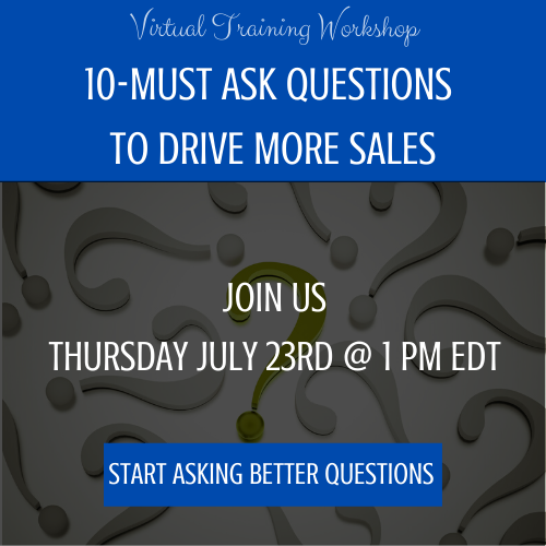 Virtual Sales Workshop - 10 Must Ask Questions to Drive More Sales