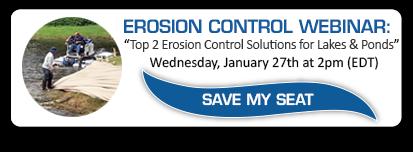 register for erosion control webinar