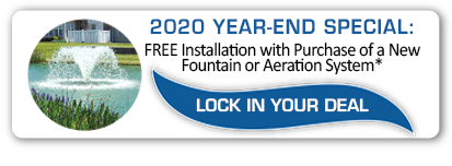 free fountain or aeration install