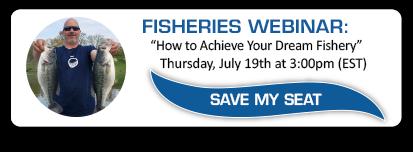 Fisheries Webinar: Register Today