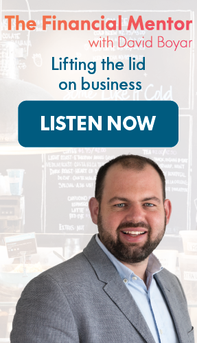 The Financial Mentor with David Boyar: Lifting the lid on business