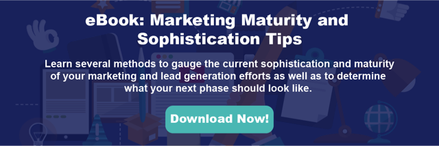 Download our Marketing Maturity eBook