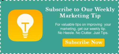 Weekly Marketing Tip image