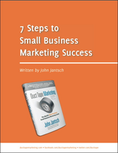 Download 7 steps to small  business marketing Ebook