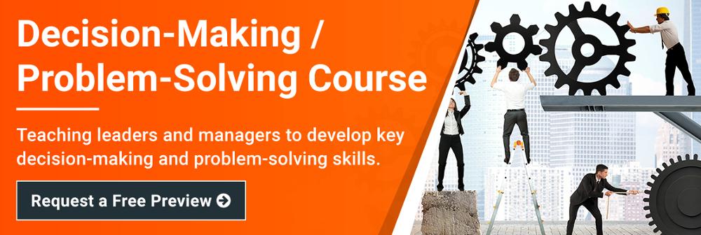 decision-making-problem-solving-course
