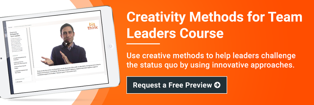 creativity-methods-for-team-leaders-course