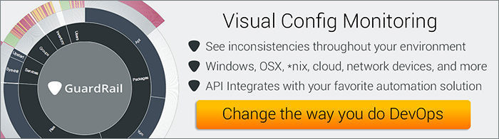 Visual Configuration Monitoring - try it now. What's the worst that can happen?