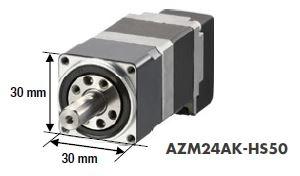 AZ series AZM24AK-HS50 geared stepper motor