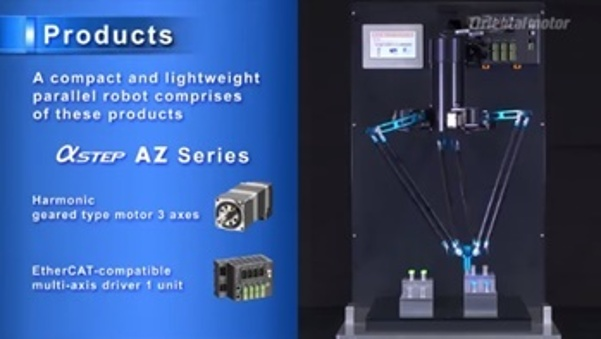 Watch 3-axis Parallel Robot Demo Video