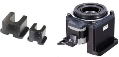 Pedestal, pedestal with DG2 hollow rotary actuator