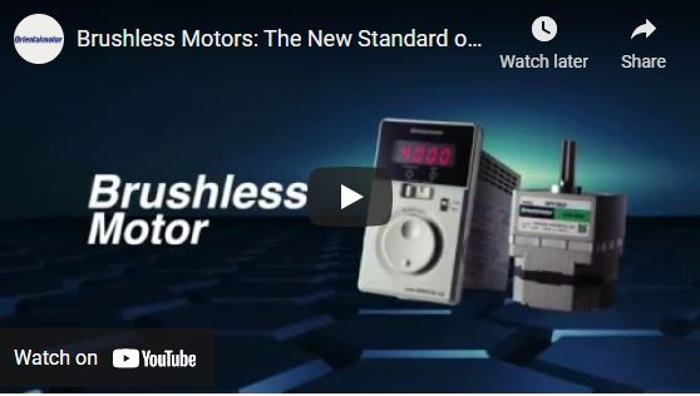 Brushless Motors Video: The New Standard of Speed Control