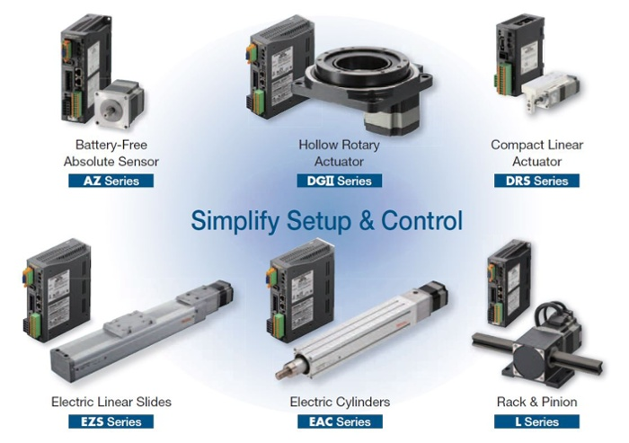 AlphaStep Family of motion control products