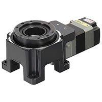 Hollow rotary actuator - horizontal motor mount