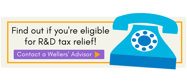 Contact us to find out R&D eligibility, Wellers accountants