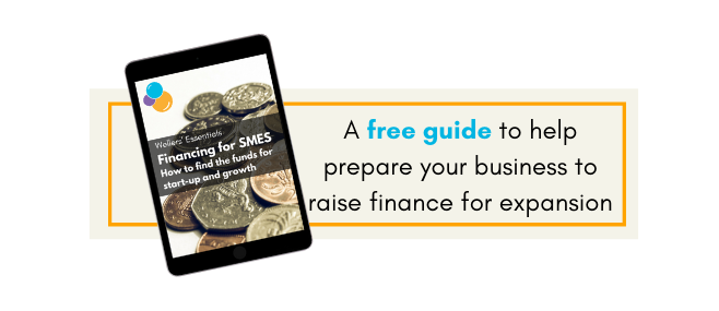 How to finance business expansion with Wellers free guide on business planning