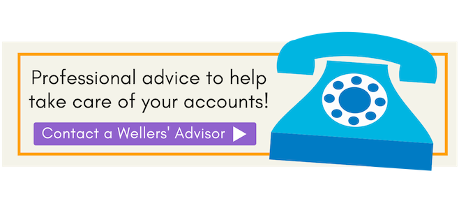 Professional advice to help take care of your accounts, Wellers.