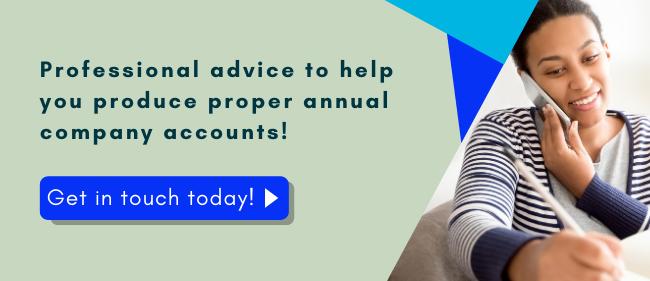 Help to produce annual company accounts
