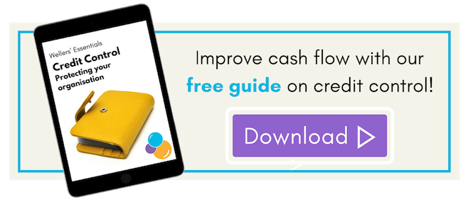 Improve cash flow with credit control.