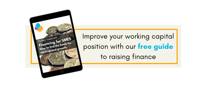 Improve your working capital position with this free guide to raising finance