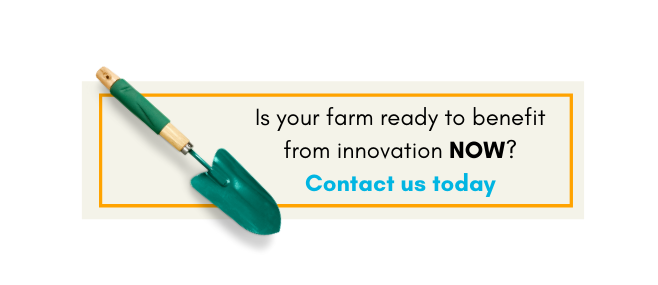 Are you using innovative approaches? Contact us to find out how your farm can  benefit today!